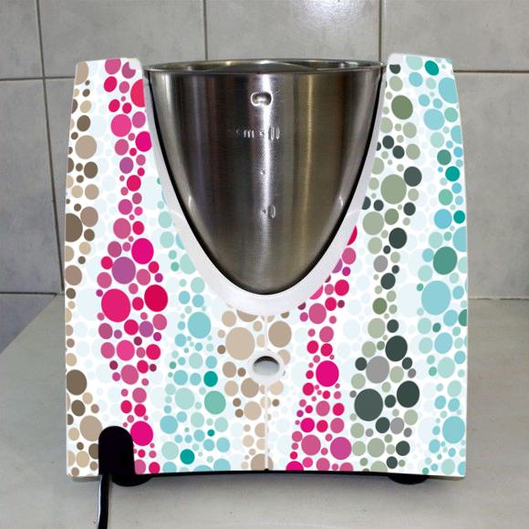 stickers thermomix tm 31 mosaique en couleur pas cher. Black Bedroom Furniture Sets. Home Design Ideas