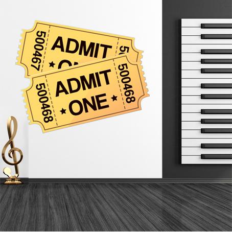stickers tickets cin ma pas cher. Black Bedroom Furniture Sets. Home Design Ideas