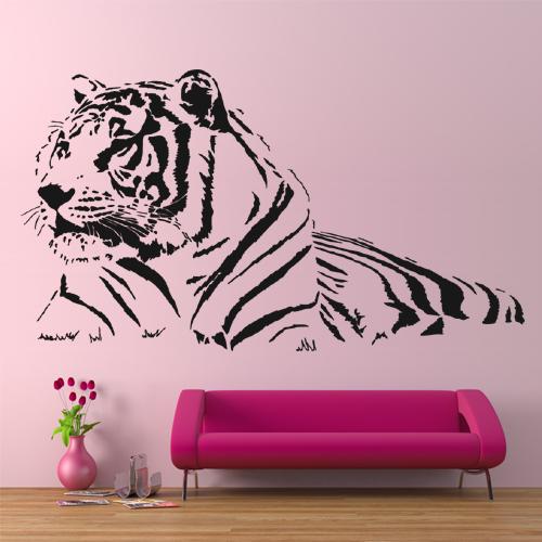 Stickers Tigre Pas Cher