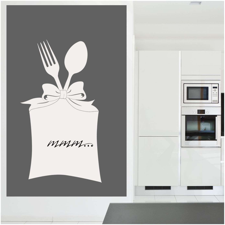 stickers velleda cuisine couverts pas cher. Black Bedroom Furniture Sets. Home Design Ideas