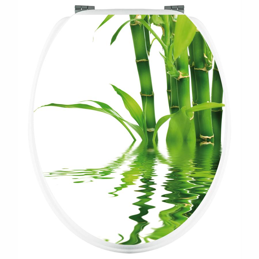 Stickers wc bambou pas cher for Tige bambou artificiel pas cher