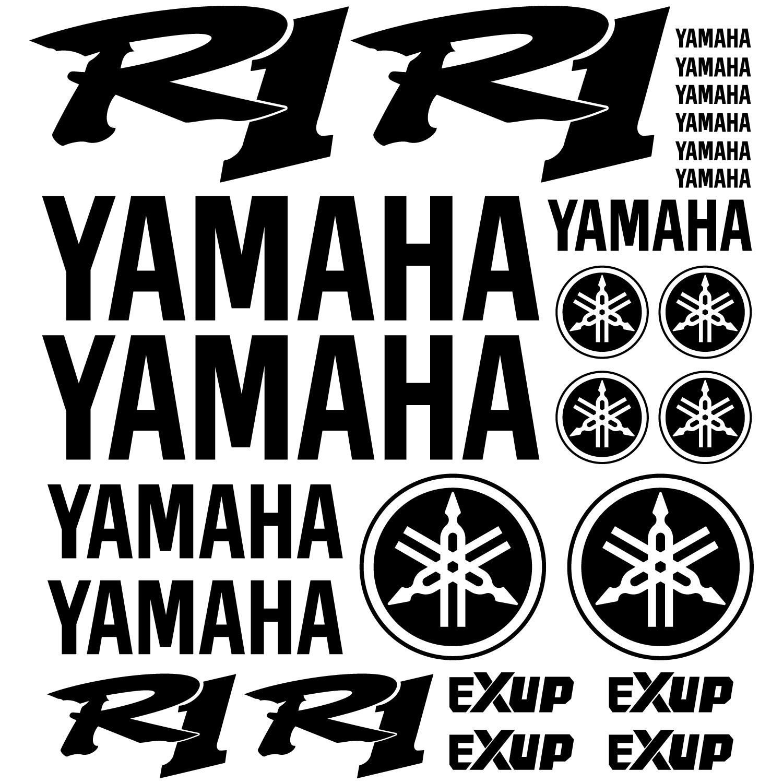 stickers yamaha r1 pas cher. Black Bedroom Furniture Sets. Home Design Ideas