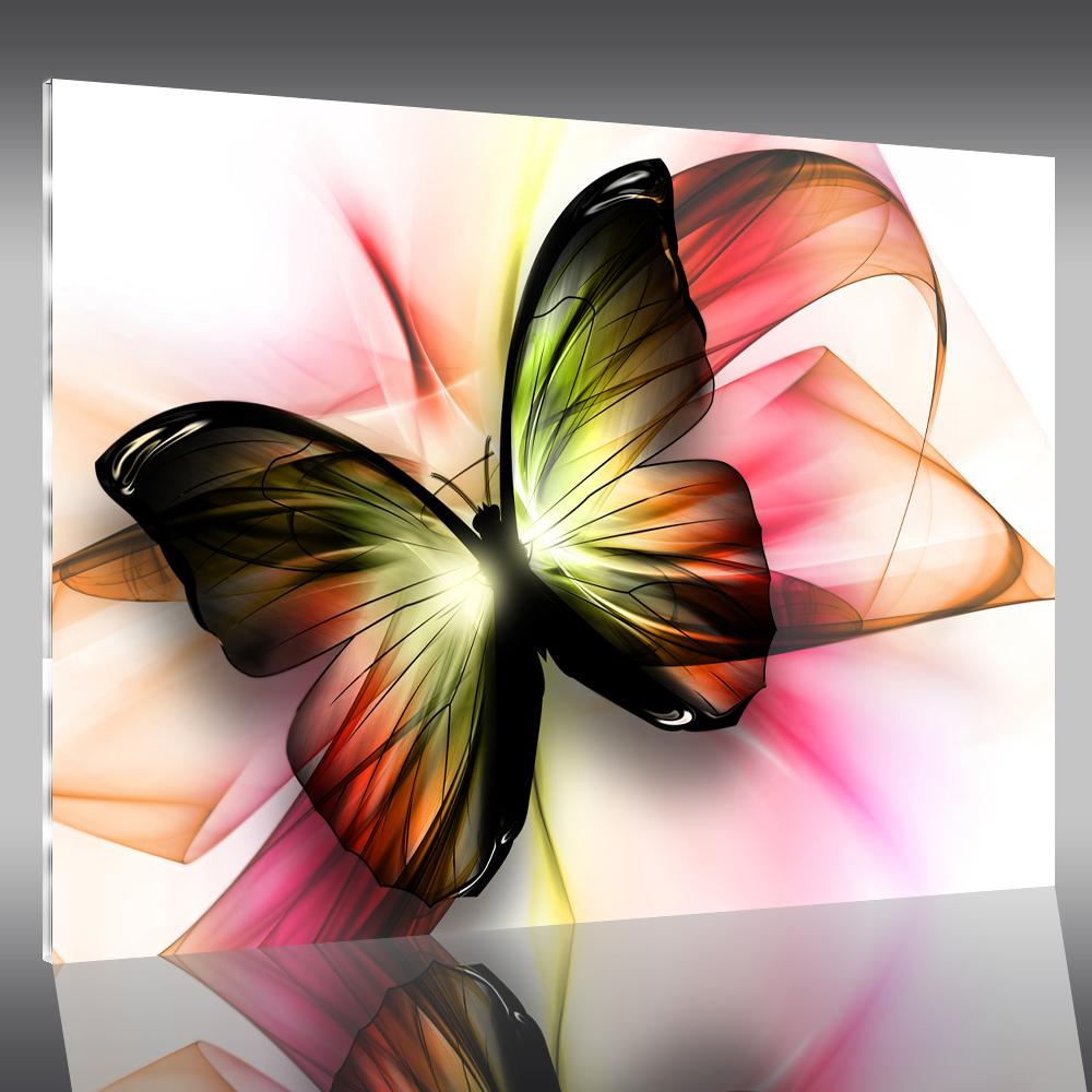 Tableau plexi papillon pas cher for Tableau blanc pas cher
