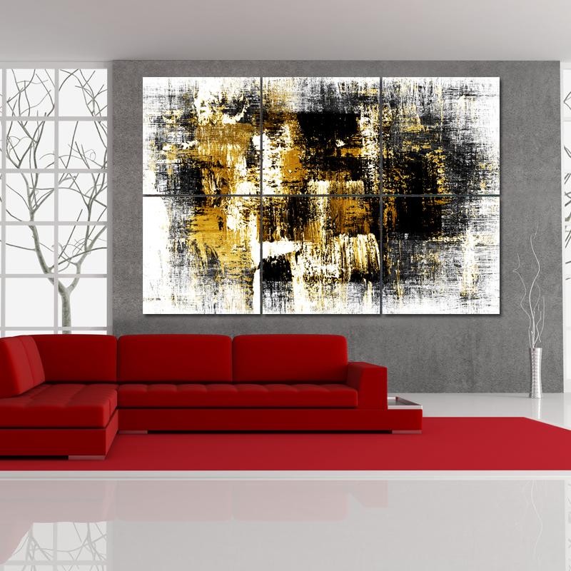 triptyque forex abstrait pas cher. Black Bedroom Furniture Sets. Home Design Ideas