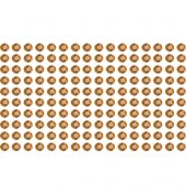 160 Estrás adhesivos chocolate