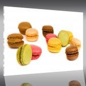 Acrylglasbild Macarons