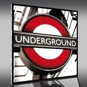 Acrylglasbild Underground