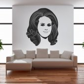 Adele  Wall Stickers