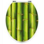 Adesivo copri WC bambù