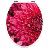 Adesivo copri WC fiori
