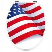 Adesivo copri WC USA