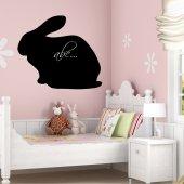 Adesivo Lavagna coniglio