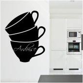 Adesivo Lavagna tazzina caffè