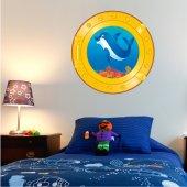 Adesivo Murale bambini Oblò