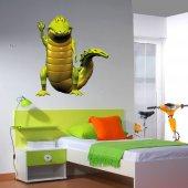 Adesivo Murale bambino coccodrillo