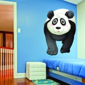 Adesivo Murale bambino panda