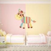 Adesivo Murale bambino patchwork