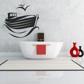 Adesivo Murale barca