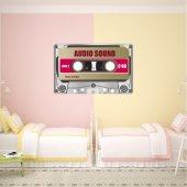 Adesivo Murale cassette