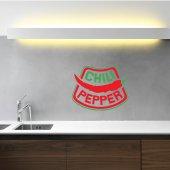Adesivo Murale chili pepper