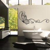 Adesivo Murale farfalle