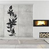 Adesivo Murale fiore