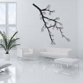 Adesivo Murale fiore ciliegio