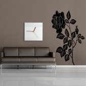 Adesivo Murale fiore di rosa