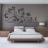Adesivo Murale fiore ornamentale