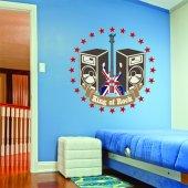 Adesivo Murale king of rock