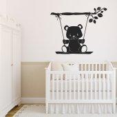 Adesivo Murale orsetto