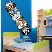 Adesivo Murale skate-board