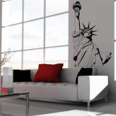 Adesivo Murale USA