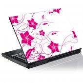 Adesivo per pc portatili grafico fiore