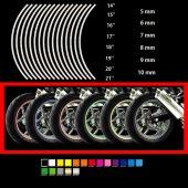 Adesivo ruote per vari usi moto