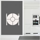 Adesivo velleda cucina posate