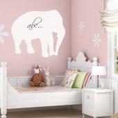 Adesivo velleda elefante