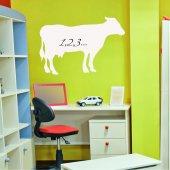 Adesivo velleda mucca