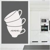 Adesivo velleda tazzina caffè