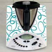 Adhesivo para Thermomix TM 31 forma floral