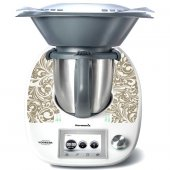 Adhesivo para Thermomix TM 5 forma floral