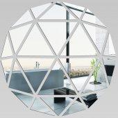 Akrylowe Lustro Plexiglas - Mozaika z Trójkątów