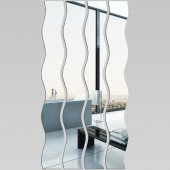 Akrylowe Lustro Plexiglas - Pionowa Mozaika