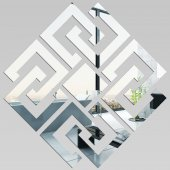 Akrylowe Lustro Plexiglas - Romb Design