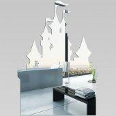 Akrylowe Lustro Plexiglas - Zamek