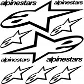 Alpinestars Aufkleber-Set