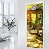 Arbor Door Stickers