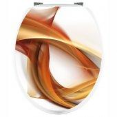 Aufkleber für Toilettendeckel Grafik