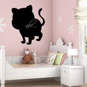 Autocolante ardósia gato