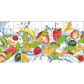 Autocolante Azulejo frutas